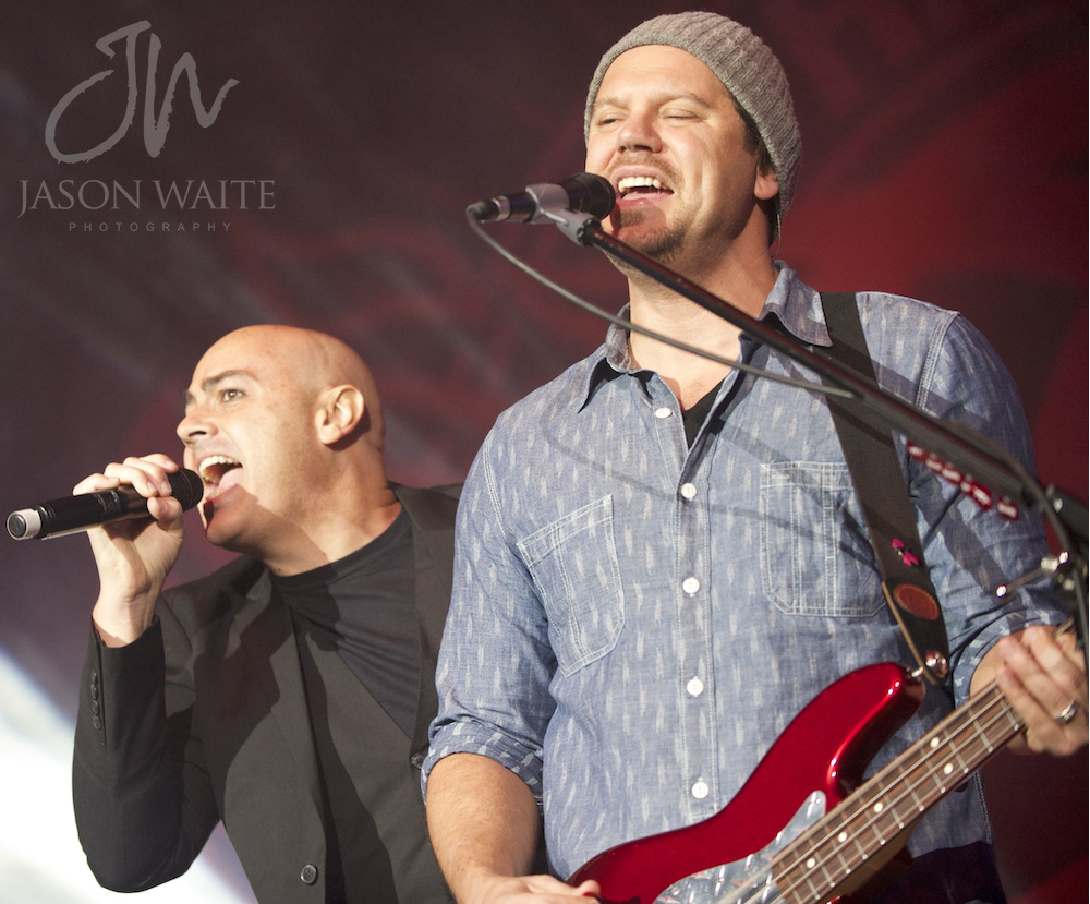 Peter Furler with Tai Anderson of Third Day