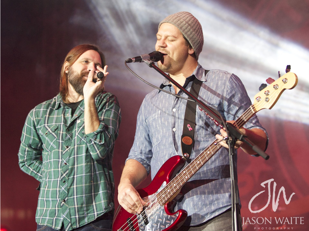 Mac Powell and Tai Anderson of Third Day