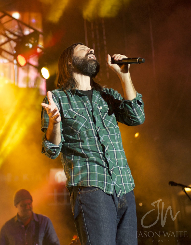 Mac Powell of Third Day at SpiritFest DFW
