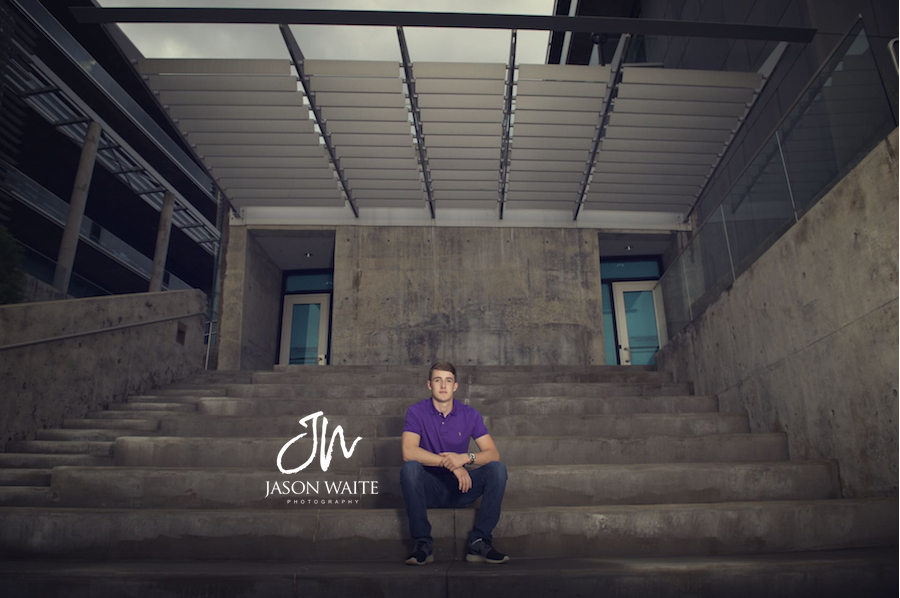 Downtown Fort Worth Senior Portraits