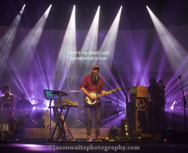 Dallas-TX-Music-Photographer-David-Crowder-Neon-Steeple