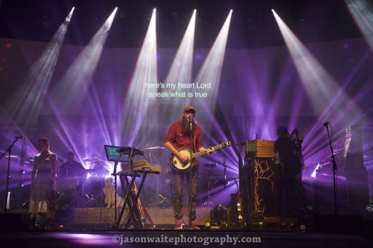 Dallas-TX-Music-Photographer-David-Crowder-Neon-Steeple