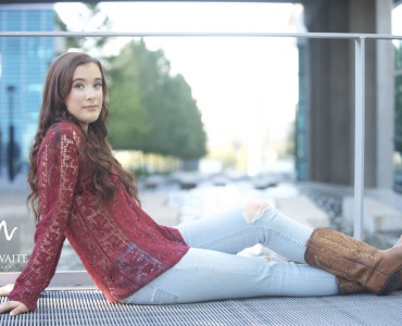 Downtown Fort Worth Senior Photography